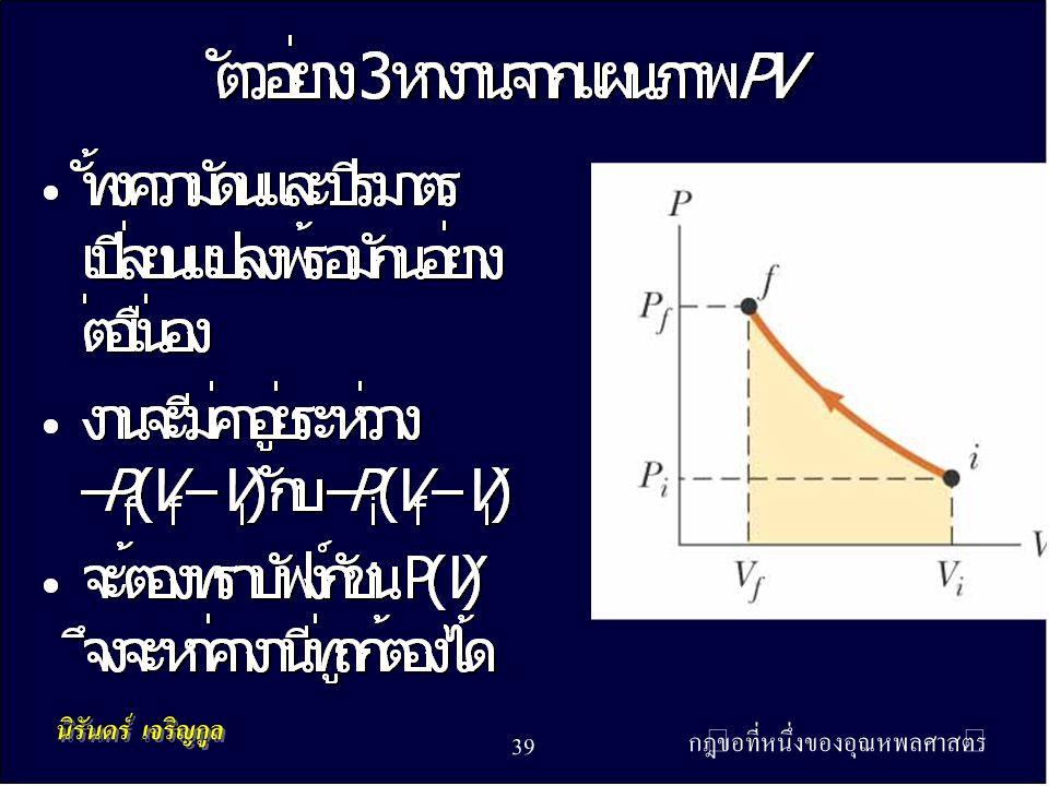 กฎข้อที่หนึ่งของอุณหพลศาสตร์ 39