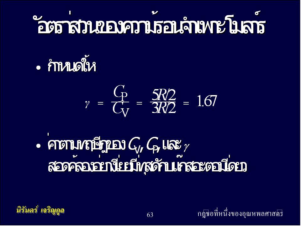 กฎข้อที่หนึ่งของอุณหพลศาสตร์ 63