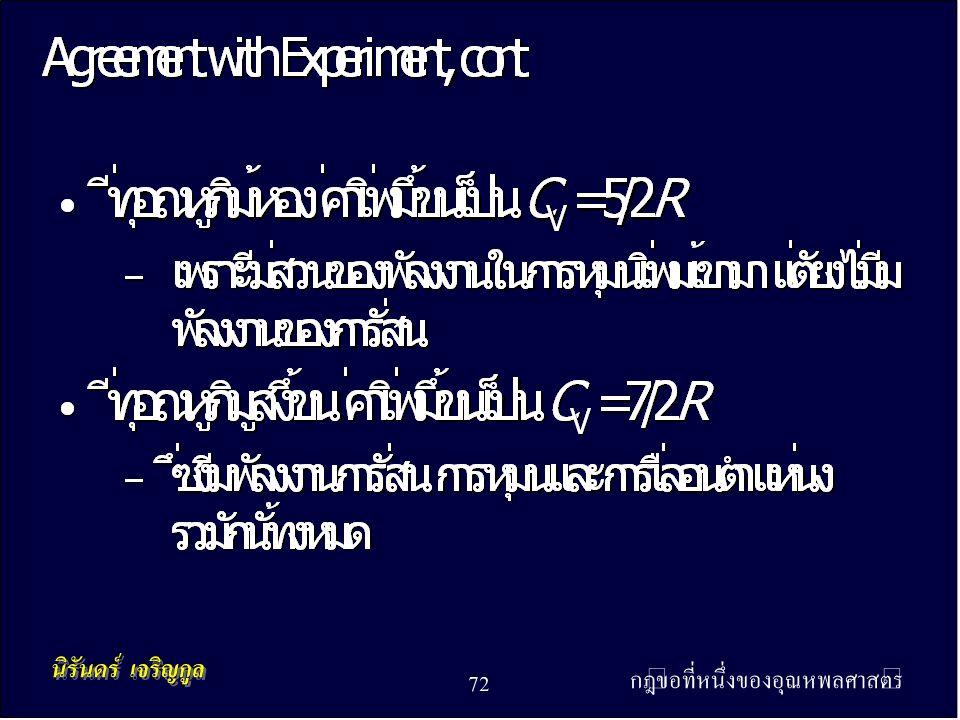กฎข้อที่หนึ่งของอุณหพลศาสตร์ 72