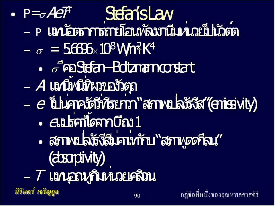 กฎข้อที่หนึ่งของอุณหพลศาสตร์ 90