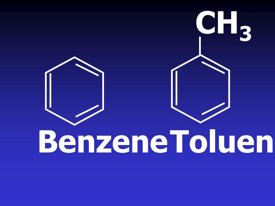 CH 3 BenzeneToluene