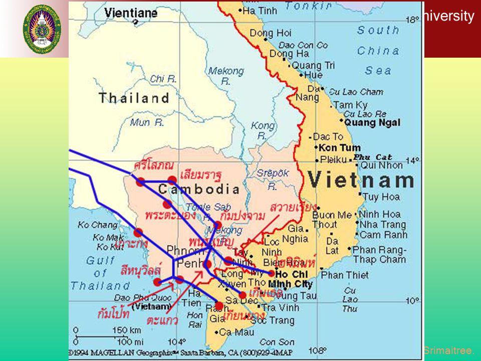 โครงข่ายเส้นทางถนนเลียบชายฝั่งทะเลไทย - กัมพูชา - เวียดนาม ( เส้นทาง R10)