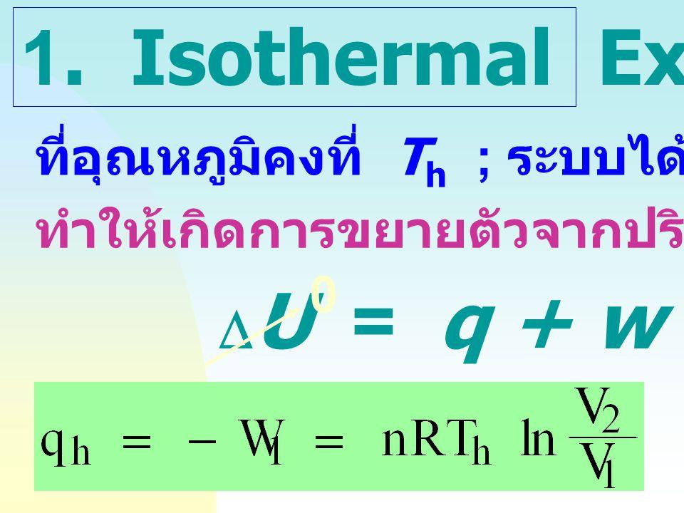 Adiabatic: P 1 V 1  = P 2 V 2  Isothermal:P 1 V 1 = P 2 V 2 P V Isothermal Adiabatic