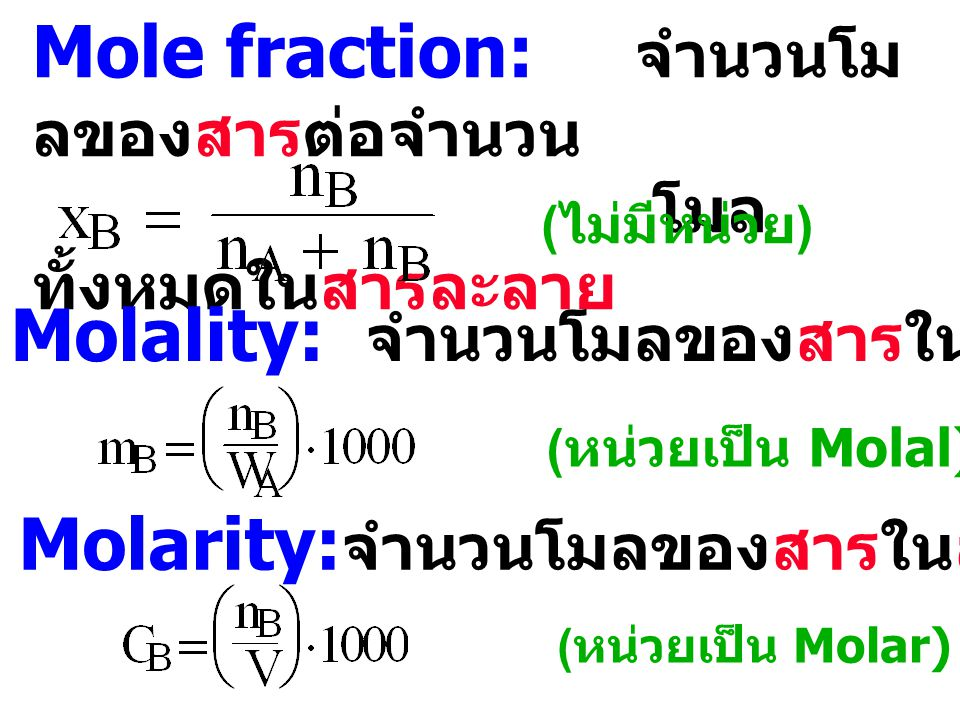 Fugacity and Activity ideal gas Pressure (P) real gas Fugacity ( f ) ideal solution Concentration (C) real solution Activity (a)