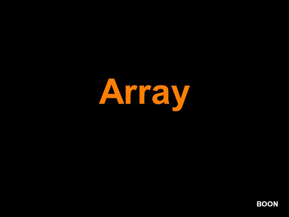 BOON Array
