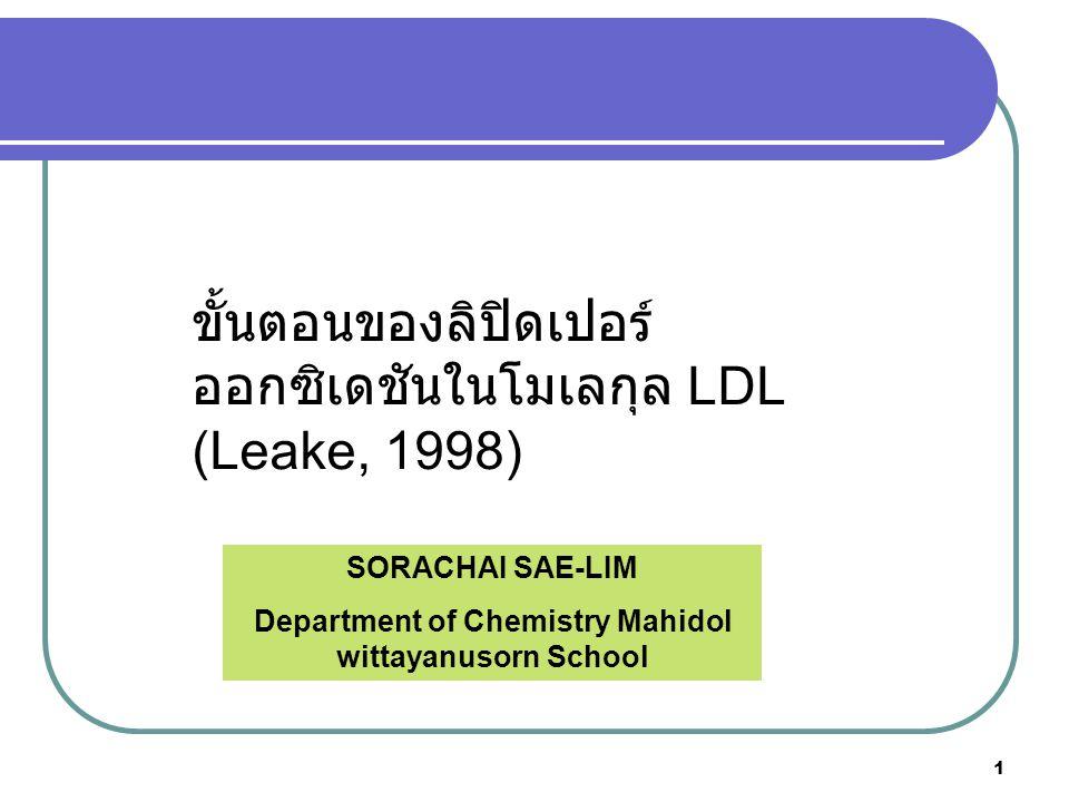 2 Lipid Oxidation Mechanism