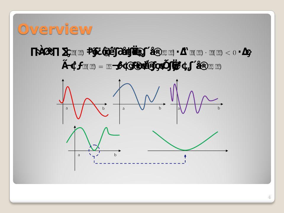 Bisection Method แนวคิด การสุ่มเลือกช่วงที่บรรจุค่าราก แล้วแบ่งช่วงนั้น ออกเป็นสองส่วนเท่าๆกัน ตรวจสอบว่าค่ารากอยู่ ทางซ้ายหรือขวาของจุดแบ่ง ทำซ้ำๆ เช่นนี้ไป จน จุดแบ่งเข้าใกล้ค่ารากมากขึ้น 7