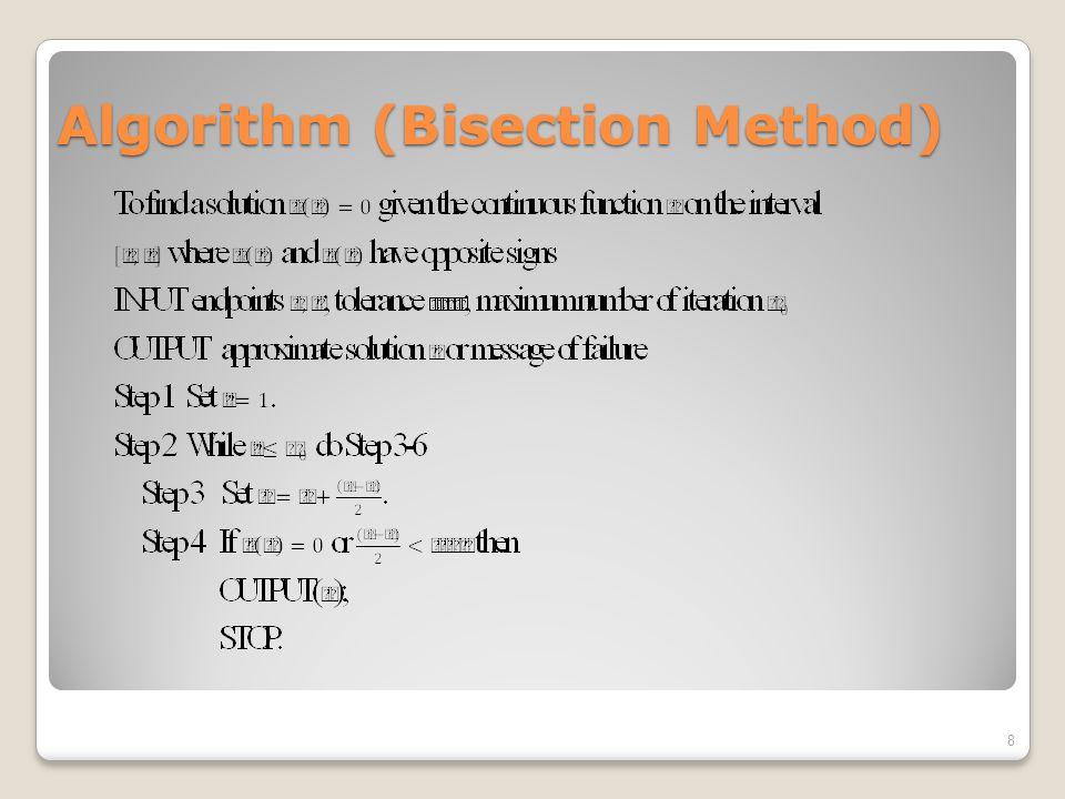 Modified Newton-Raphson: Example