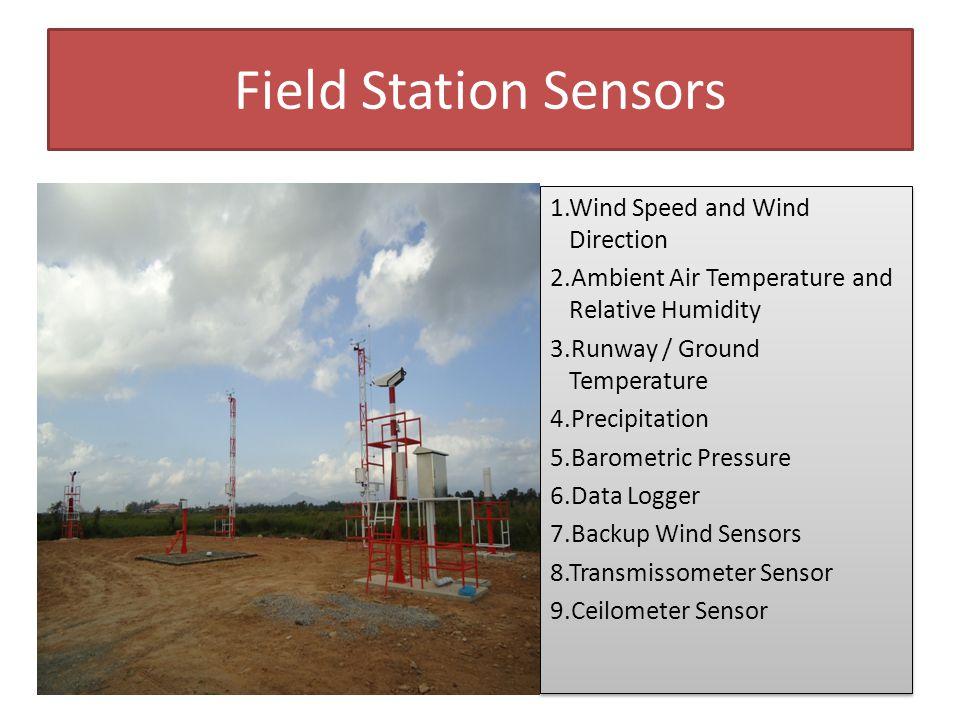 Pressure Sensor Atmospheric pressure (PTB330) ประกอบด้วยทรานสดิวเซอร์จำนวน 3 ชุด โดยทำงานอิสระต่อกัน แต่ในกรณีที่ตรวจพบว่า ค่าตัวใด ตัวหนึ่งมีค่าเปลี่ยนแปลงไปจากค่าที่ตั้งไว้ จะแจ้งเตือน ไปยังผู้ใช้ผ่านทาง AVIMET ซอฟต์แวร์ ปกติจะติดตั้งอยู่ ภายในตู้ Data Logger - ย่านการวัด 500…1100 hPa.