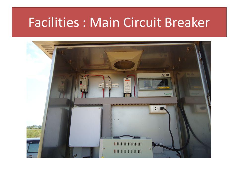 Facilities : Main Circuit Breaker