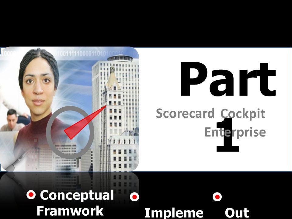 Part 1 Scorecard Enterprise Cockpit Conceptual Framwork Impleme ntation Out put