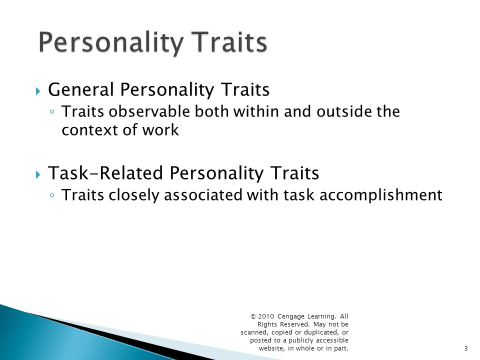 4 General Personality Traits of Effective Leaders