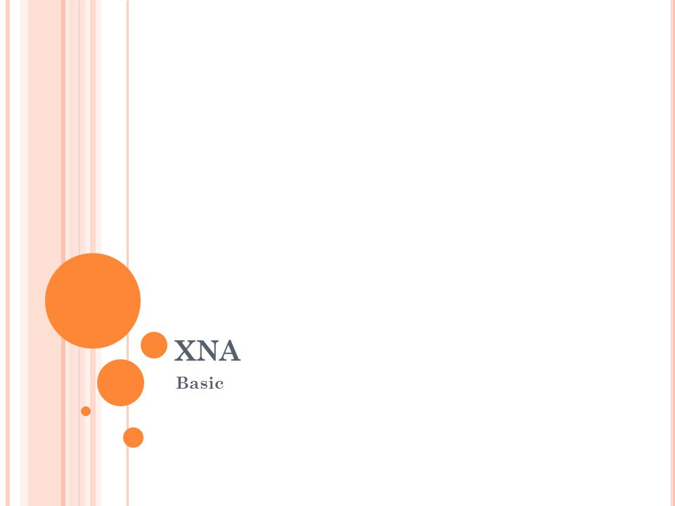 XNA Basic