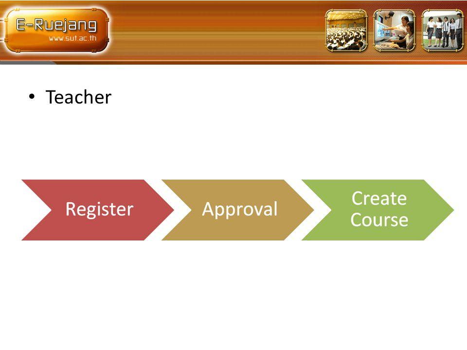 • Teacher