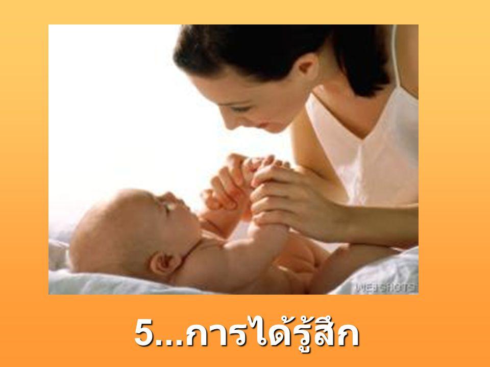 5... การได้รู้สึก