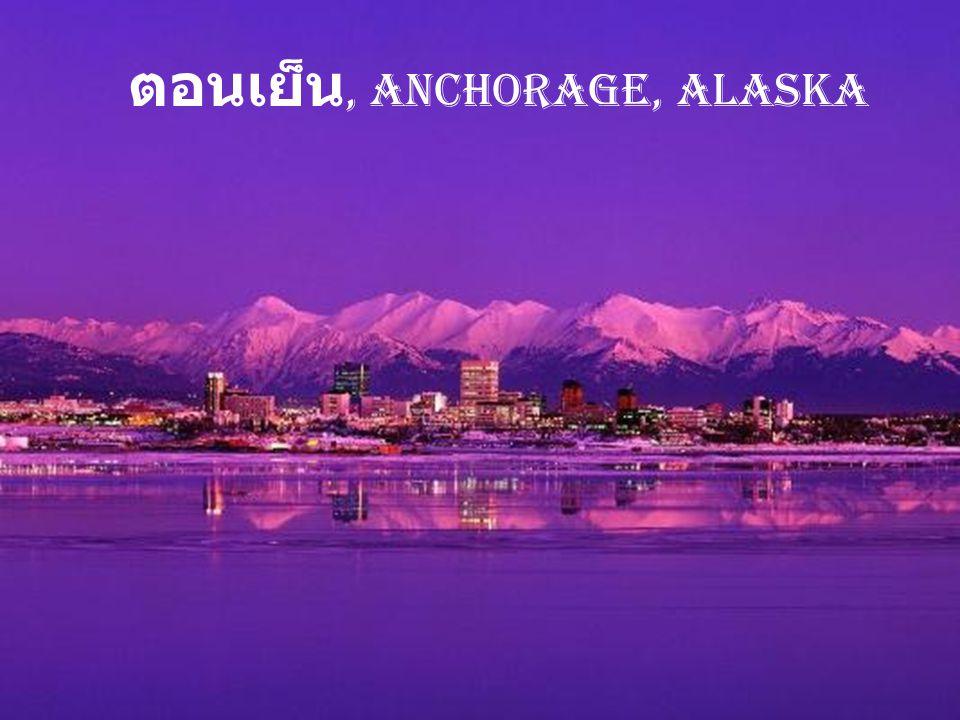 น้ำแข็งไหล, Parc National Denali, Alaska