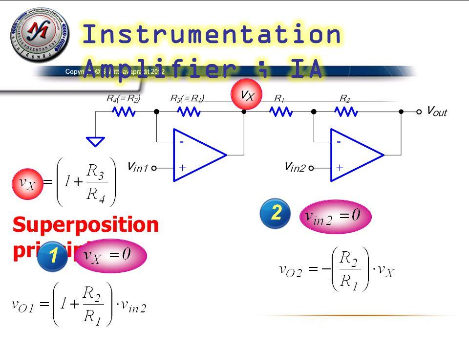 Superposition principle :- 1 2