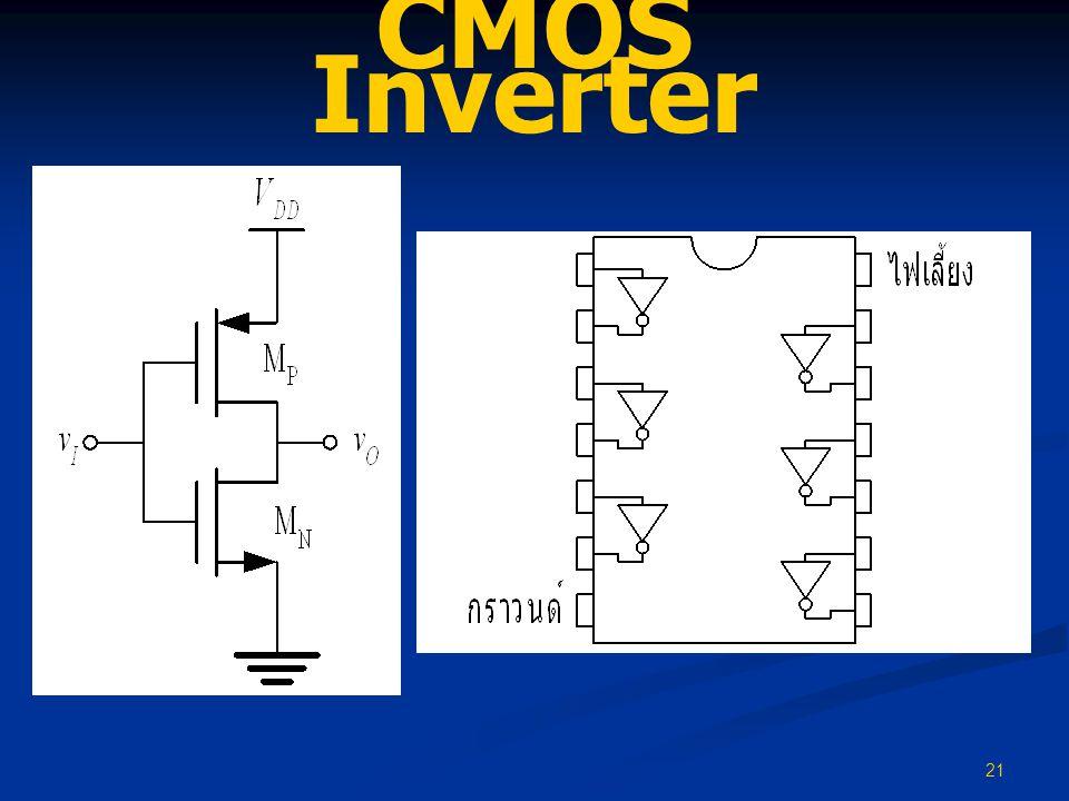 21 CMOS Inverter