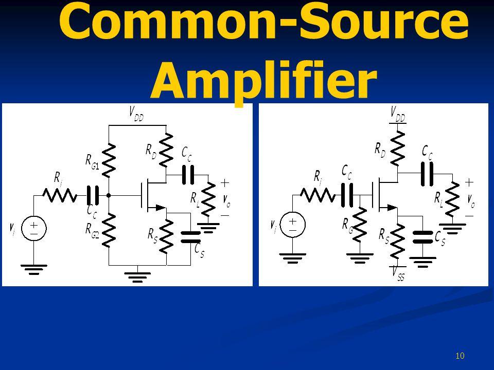 10 Common-Source Amplifier