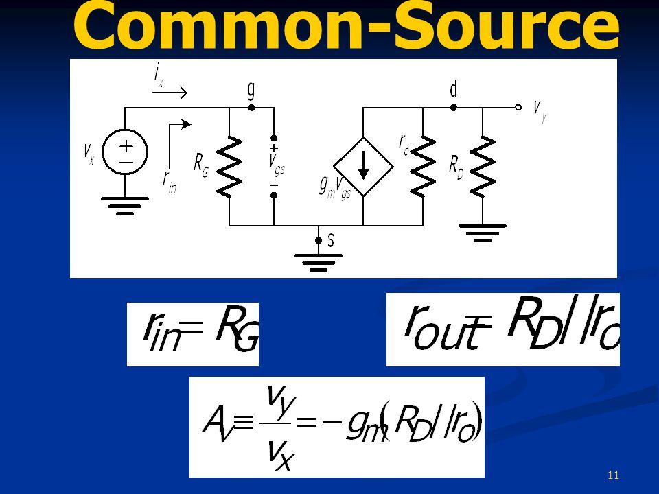 11 Common-Source Amplifier