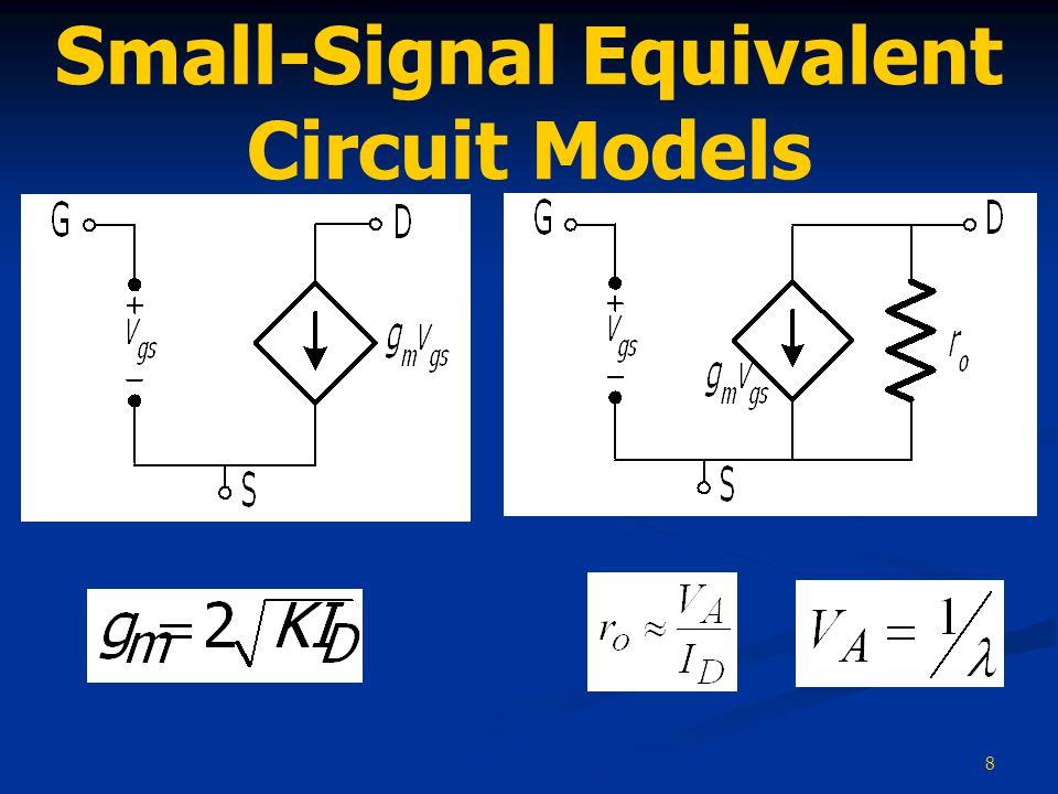 8 Small-Signal Equivalent Circuit Models