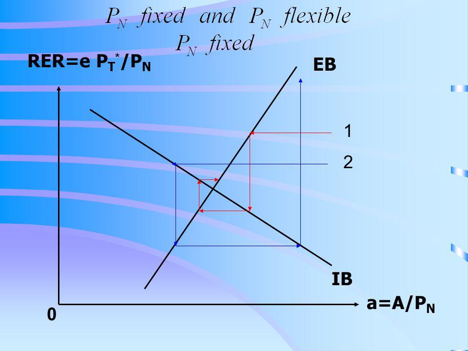 RER=e P T * /P N a=A/P N 0 IB EB 1 2
