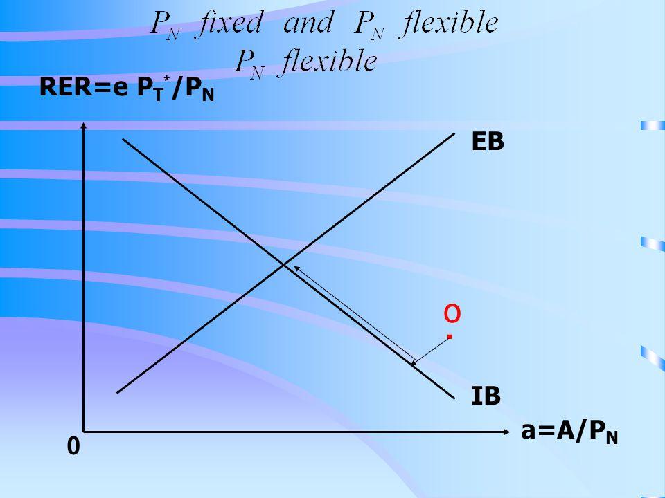 RER=e P T * /P N a=A/P N 0 IB EB. o
