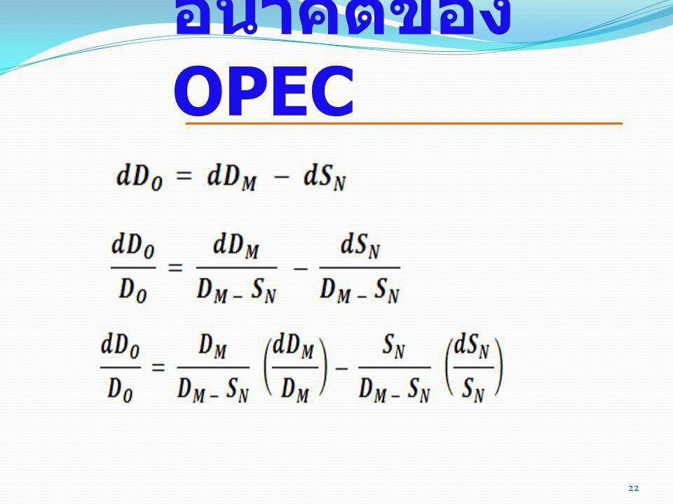 อนาคตของ OPEC 22