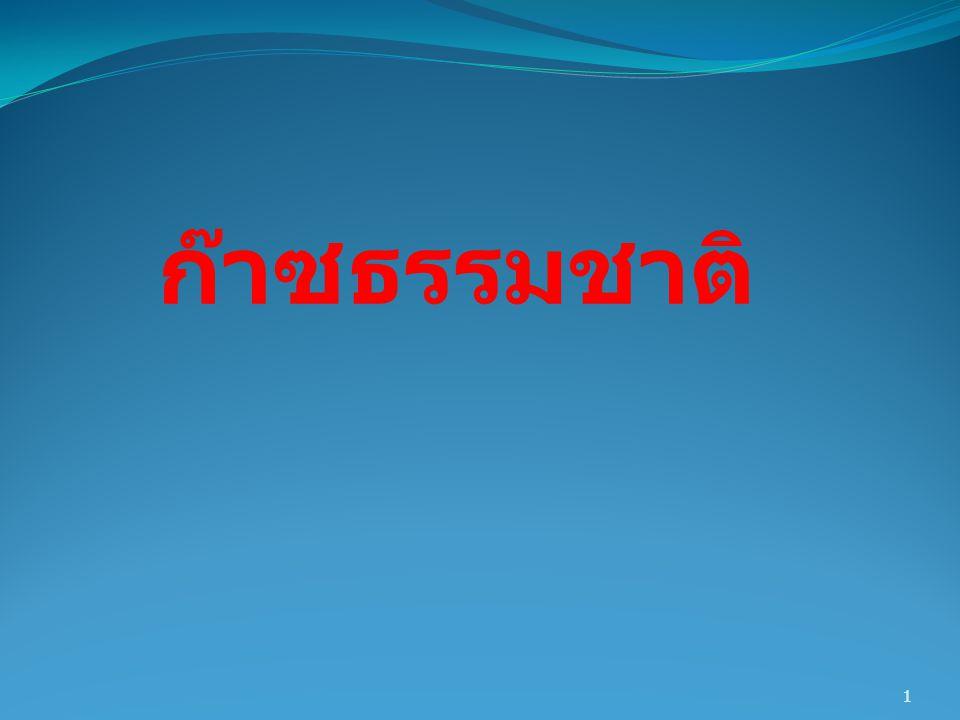 22  ประเด็นเกี่ยวกับการใช้ก๊าซ ธรรมชาติของไทย :  ข้อเสีย : การผลิตไฟฟ้าต้องพึ่งพา NG สูงมากถึง 70% กระจุกตัว และเสี่ยงเกินไป ต้องนำเข้าเพิ่มขึ้น ในที่สุด ราคาจะแพงตามน้ำมันใน อนาคต 22