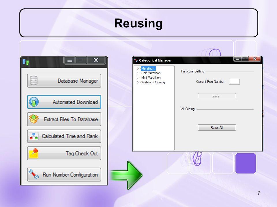 Reusing 7