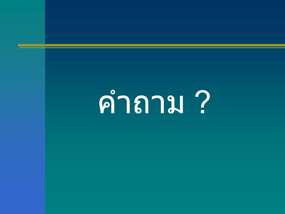 คำถาม ?