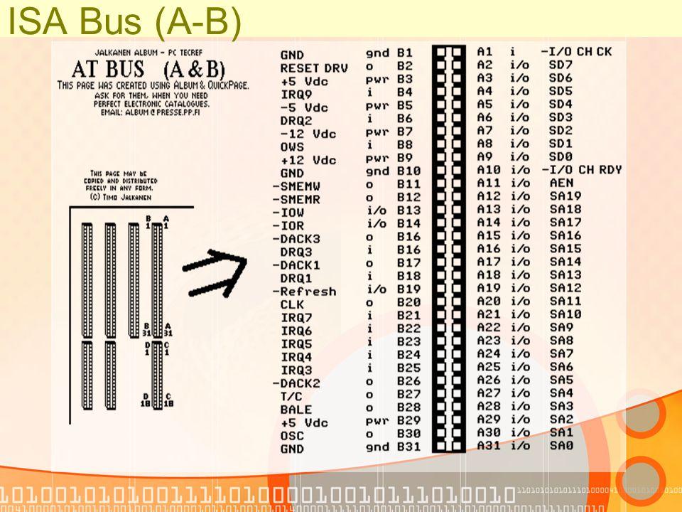 ISA Bus (C-D)