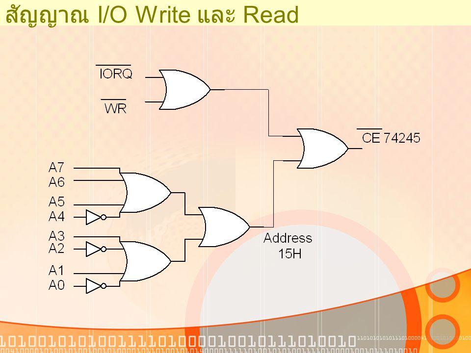 Interfacing Example : Basic I/O