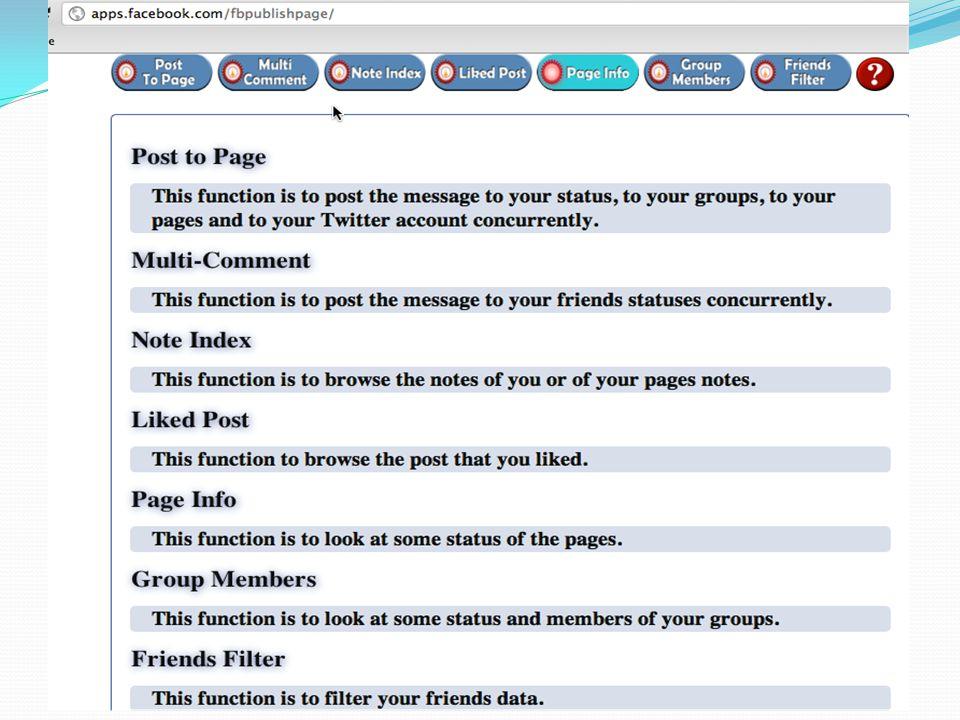 ปัญหาและอุปสรรค  ข้อจำกัดของ Facebook API  ความไม่เสถียรของการเชื้อมต่อระหว่าง แอปพลิเคชัน เซิร์ฟเวอร์และเซิร์ฟเวอร์ของเฟซบุ๊ก  การใช้งานเซิร์ฟเวอร์