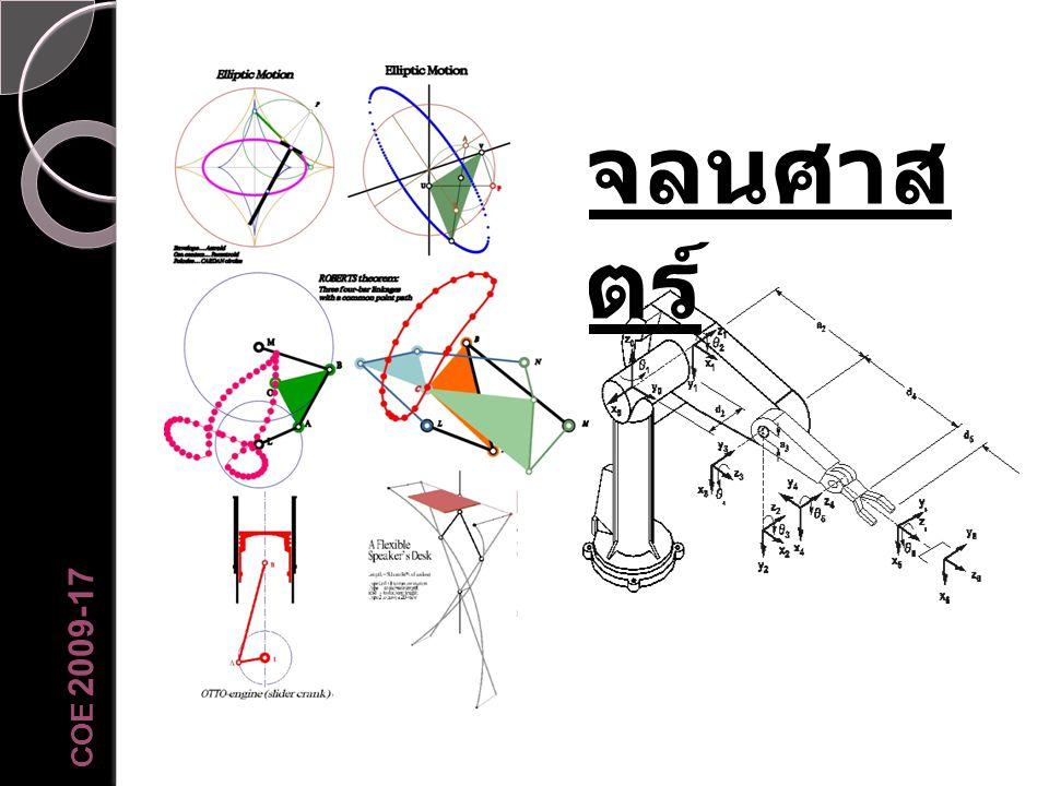 จลนศาส ตร์ COE 2009-17