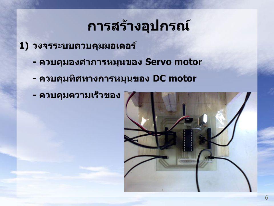 9 การสร้างอุปกรณ์ ( ต่อ ) 2) วงจรระบบวิเคราะห์ข้อมูล GPS