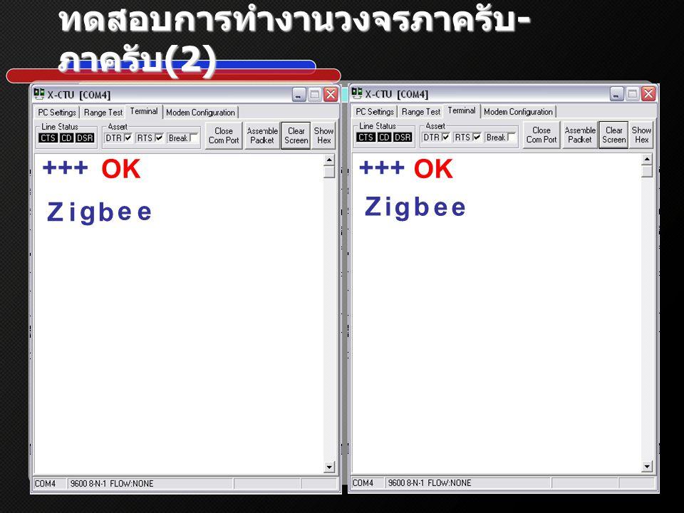 ทดสอบการทำงานวงจรภาครับ - ภาครับ (2) +++ OK Z Z i i g g b b e e e e