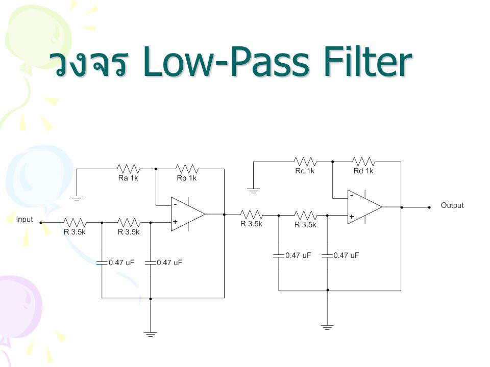 วงจร Low-Pass Filter