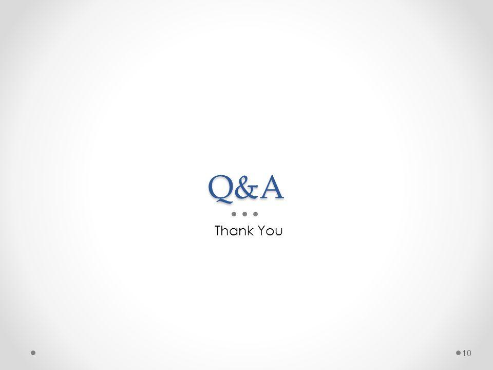 Q&A Thank You 10