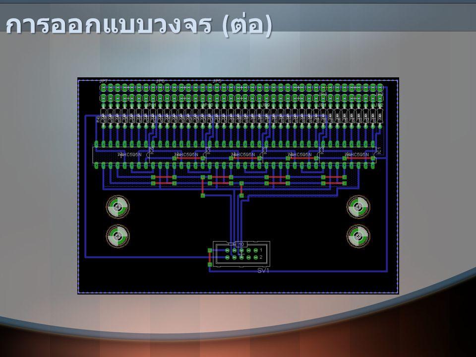 การทดสอบระบบ ทดสอบการรับส่งสัญญาณระหว่างชุด Microcontroller 5 ชุด โดยกำหนดให้ชุดหนึ่งเป็นรถเมล์ ( สายสีแดง ) ทำหน้าที่ส่งสัญญาณ และอีก 4 ชุด เป็นป้ายรถเมล์ ( ป้าย 8 คือ คณะสถาปัตยกรรม, ป้าย 9 คือ คณะเภสัช ศาสตร์, ป้าย 11 คือ คณะพยาบาลศาสตร์, ป้าย 12 คือ ศูนย์แพทย์ ) ดังรูป ทดสอบการรับส่งสัญญาณระหว่างชุด Microcontroller 5 ชุด โดยกำหนดให้ชุดหนึ่งเป็นรถเมล์ ( สายสีแดง ) ทำหน้าที่ส่งสัญญาณ และอีก 4 ชุด เป็นป้ายรถเมล์ ( ป้าย 8 คือ คณะสถาปัตยกรรม, ป้าย 9 คือ คณะเภสัช ศาสตร์, ป้าย 11 คือ คณะพยาบาลศาสตร์, ป้าย 12 คือ ศูนย์แพทย์ ) ดังรูป