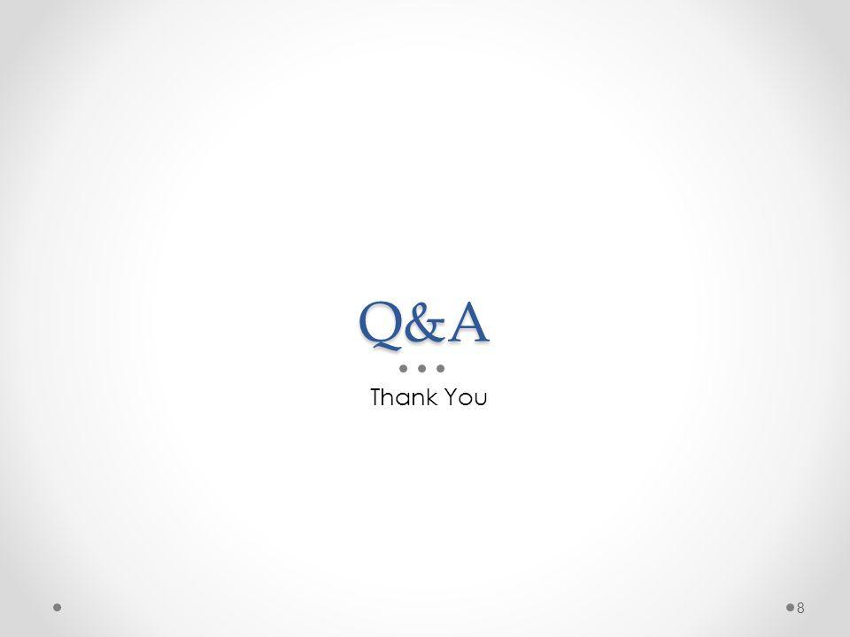 Q&A Thank You 8
