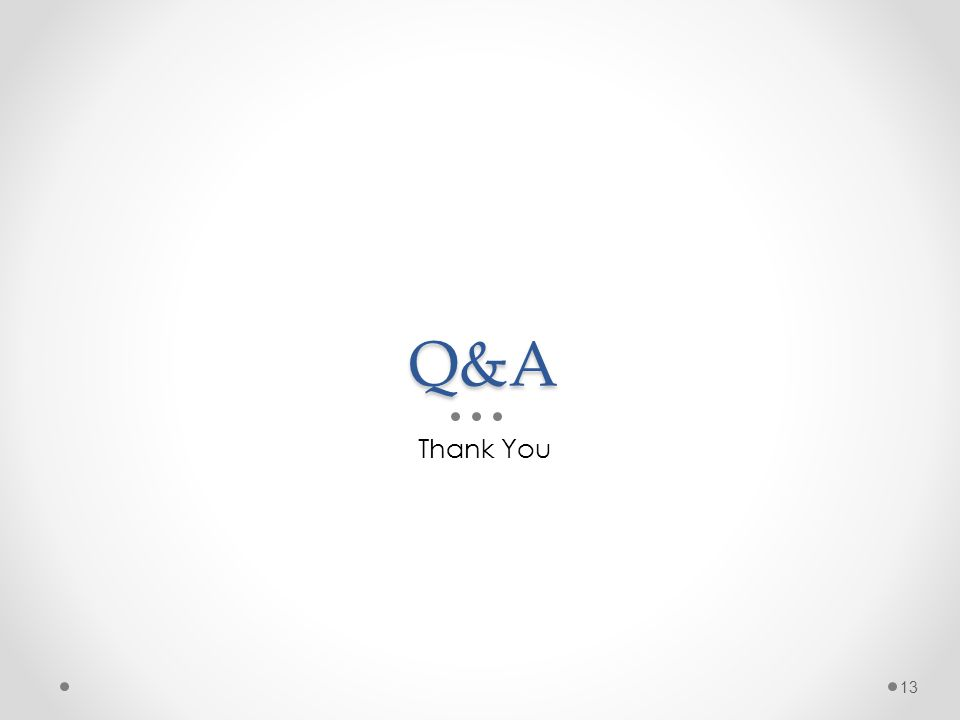 Q&A Thank You 13