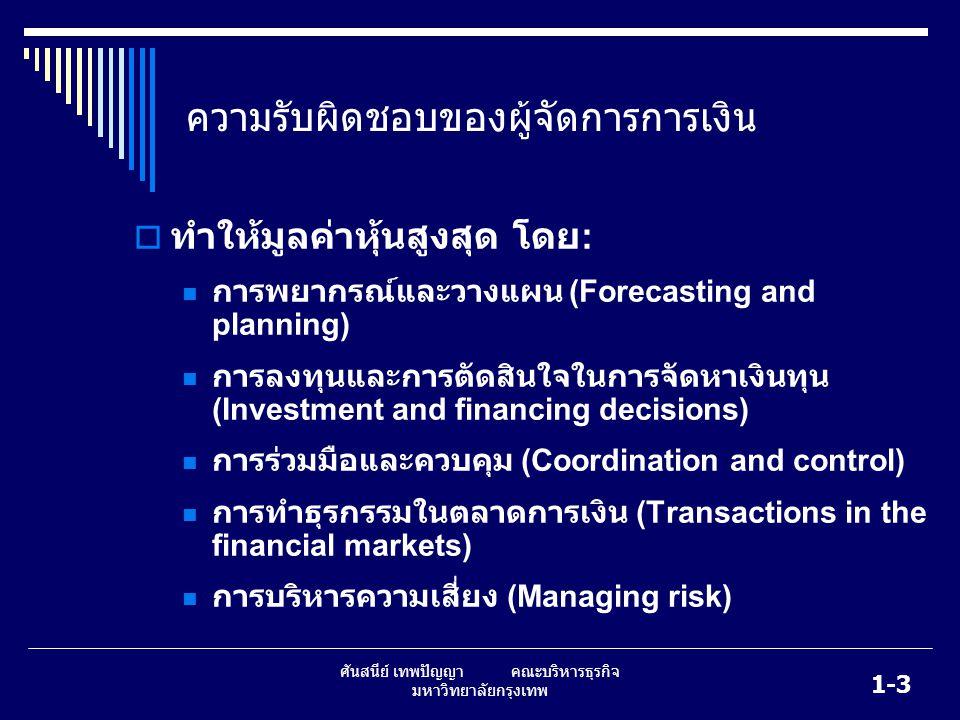 1-4 ศันสนีย์ เทพปัญญา คณะบริหารธุรกิจ มหาวิทยาลัยกรุงเทพ รูปแบบขององค์กรทางธุรกิจ  เจ้าของคนเดียว  ห้างหุ้นส่วน  บริษัท