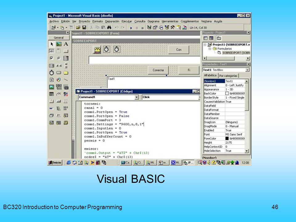 BC320 Introduction to Computer Programming47 PASCAL