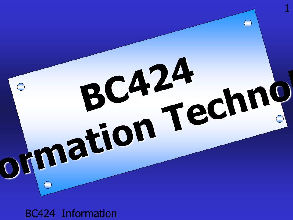 BC424 Information Technology 11 Assignment ชิ้นที่ 1 ตลอดเทอม • ให้แต่ละกลุ่มหาข่าวหรือ Tip เกี่ยวกับ IT มานำเสนอ ใช้เวลา Present แต่ละ ครั้ง ไม่เกิน 5 นาที (Present สัปดาห์ ละ 2 กลุ่ม ) • สิ่งที่ต้องส่งในสัปดาห์ที่จะนำเสนอ คือ paper ข่าว, แหล่งที่มา, ชื่อ ผู้รายงาน และสมาชิกในกลุ่ม