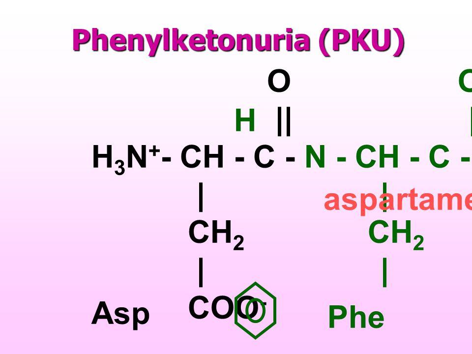Metabolites in PKU patients Murray RK, et.al. p.255, 2003