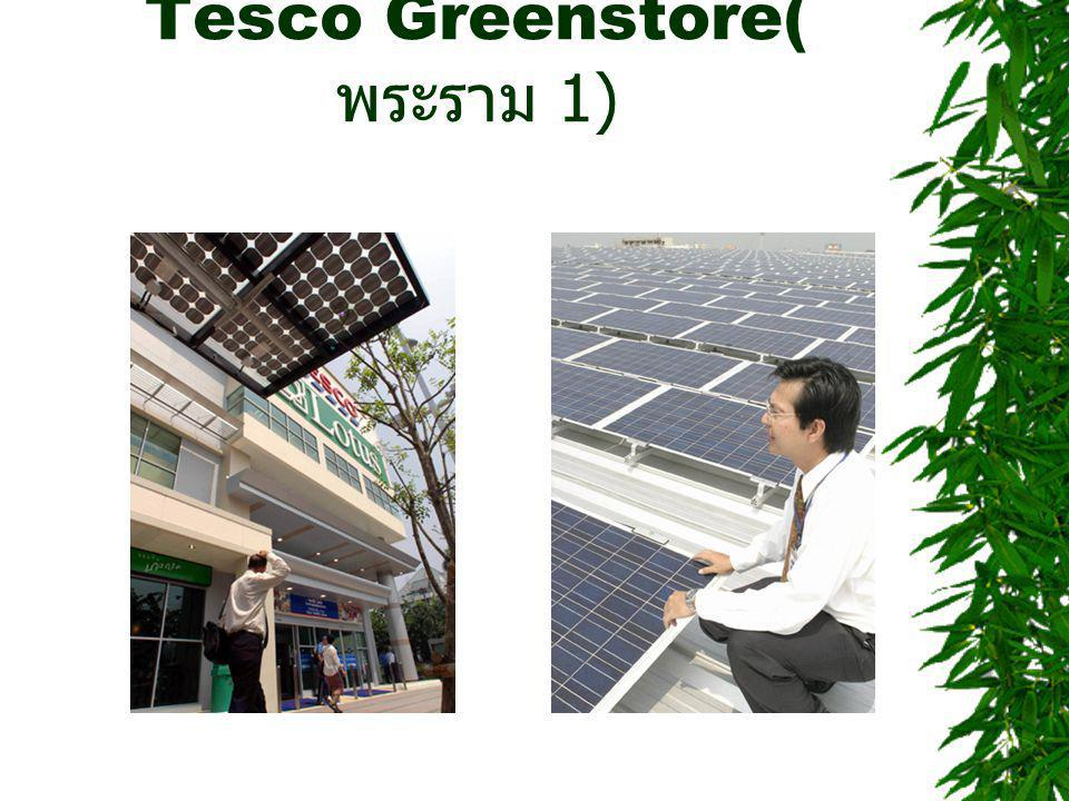 Tesco Greenstore( พระราม 1)