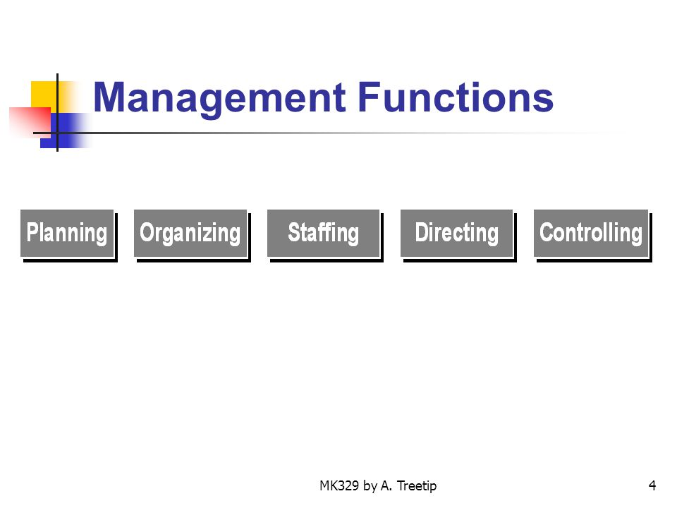 MK329 by A. Treetip4 Management Functions
