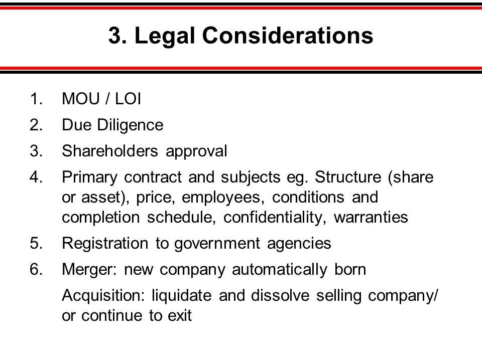 Acquisition •Share Acquisition บริษัท ก.ผู้ถือหุ้นใน บริษัท ข.