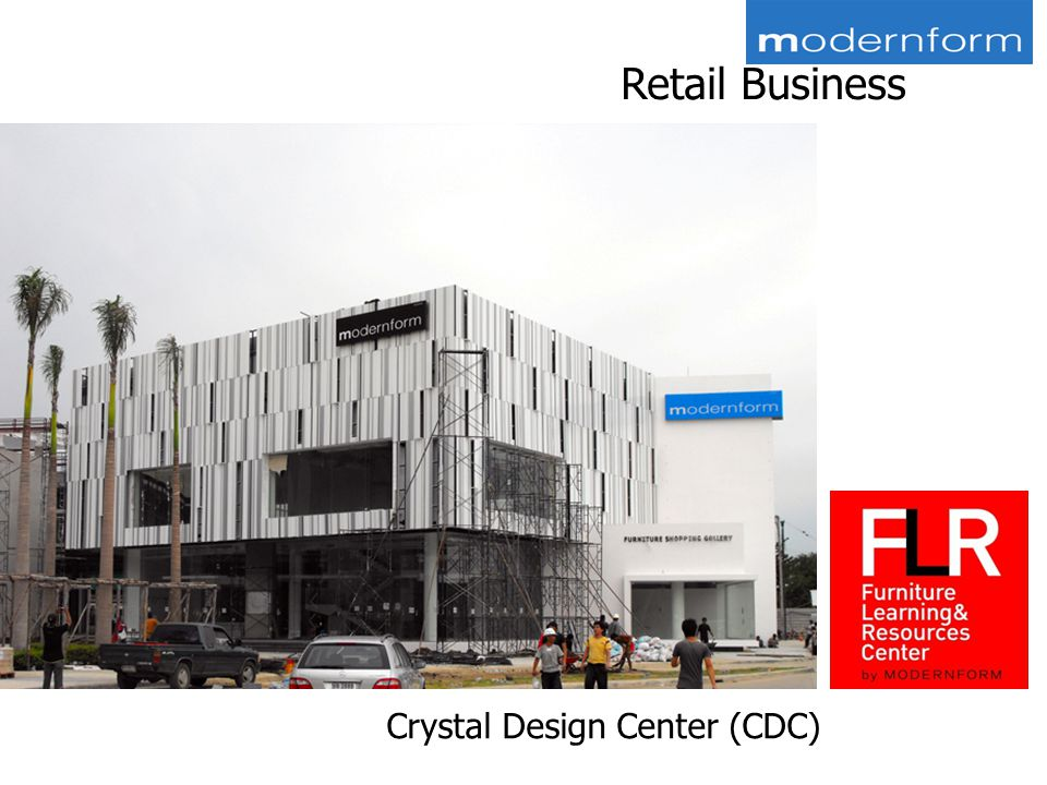 Retail Business Crystal Design Center (CDC)